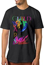 Noral Video Game GW2 Men's Crewneck T Shirt Black