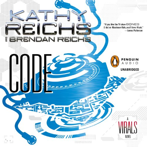 Code     A Virals Novel, Book 3              By:                                                                                                                                 Kathy Reichs,                                                                                        Brendan Reichs                               Narrated by:                                                                                                                                 Cristin Milioti                      Length: 10 hrs and 28 mins     291 ratings     Overall 4.6