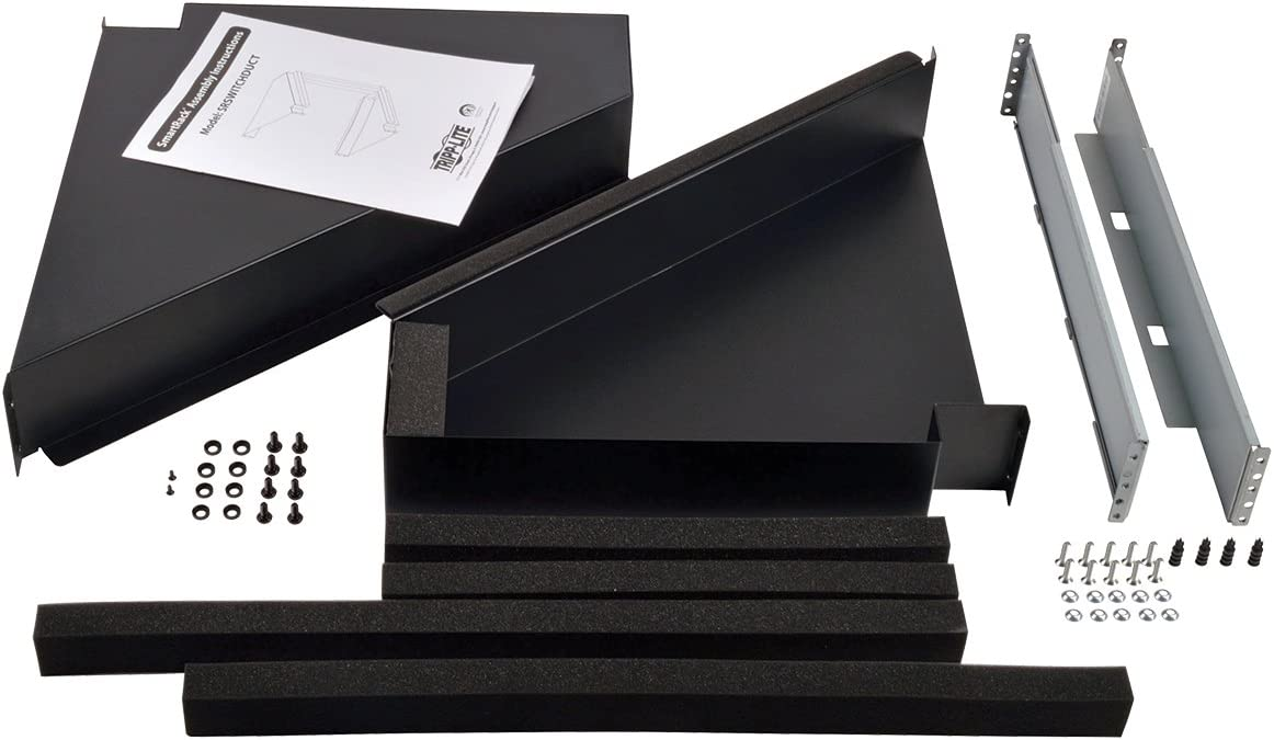 Tripp Lite Rack Enclosure Cabinet Side Airflow Duct Kit for Network Switch SRSWITCHDUCT