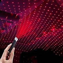 جهاز عرض ستارلايت، ضوء ليلي USB نجمة، مصابيح السقف الداخلي للسيارة ، إسقاط إضاءة ليلية USB قابل للتعديل لغرفة النوم، ديكور...