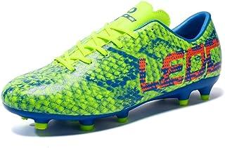 2e9dce4d8 LEOCI Men Boys Kids Soccer Shoes Outdoor Spikes Football Boots Cleats  Children Training Football Boots