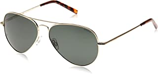 Polaroid Unisex Sunglasses Aviator PLD 1017/S - Light Gold