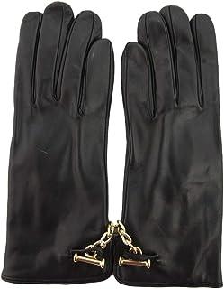 Luxury Fashion   Sermoneta Gloves Womens SG0311154010 Black Gloves   Spring Summer 19