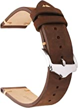 EACHE Genuine Leather Watch Bands Crazy Horse/Oil Wax/Suede/Vegetable-Tanned Leather Watch Straps Replacement Watchbands 18mm 19mm 20mm 22mm