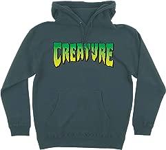 Creature Skateboards Logo Alpine Green Men's Hooded Sweatshirt - Large