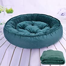 Deluxe Pet Beds-Oval Orthopedic Snuggery Blanket Burrowing Cave Convertible Hood Dog Bed for Dogs & Cats-Multiple Styles, ...