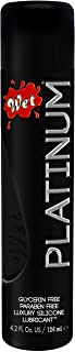 Wet Platinum Silicone Based Lube, Premium Personal Lubricant, 4.2 Ounce, for Men, Women..