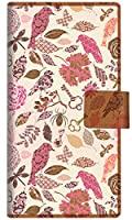 楽天モバイル AQUOS sense4 lite SH-RM15 手帳型 スマホ ケース カバー 640 おしゃれな小鳥 横開き UV印刷