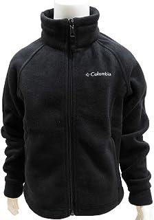 Columbia コロンビア 子供服 キッズ ジャケット フリース ジップアップ 軽量 防寒 アウター - ブラック/110~120cm