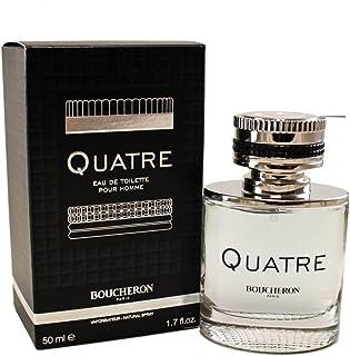 BOUCHERON Quatre Pour Homme Eau De Toilette Spray For Men, 50 ml