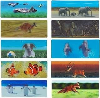 3D Bookmarks for Kids Animal Bookmarks for Men 20 pcs