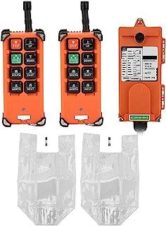 Mando a distancia, control remoto inalámbrico Polipasto Control remoto 2 transmisor + 1 receptor 220v, hasta 9 puntos de control
