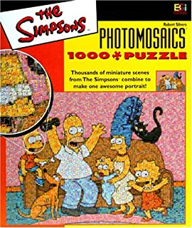 Best the simpsons photomosaics jigsaw puzzle Reviews