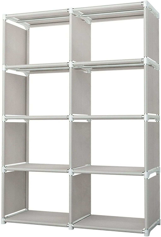 8 4 years warranty Cube Storage Shelf Rack Bookshelf Organizer Super beauty product restock quality top Bookcase Cabinet D