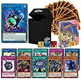 Totem World Legendary Bundle: 1 Ultra, 10 Rare & 90 Cards with Deck Box and Mini Binder Compatible for Yugioh Cards