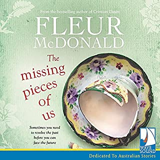 The Missing Pieces of Us                   By:                                                                                                                                 Fleur McDonald                               Narrated by:                                                                                                                                 Anna Hruby                      Length: 8 hrs and 57 mins     8 ratings     Overall 4.3