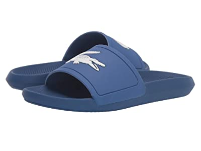 Lacoste Croco Slide 319 1 (Blue/White) Women