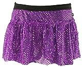 Purple Sparkle Running Skirt L