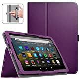 Dadanism Case for All-New Kindle Fire HD 8 Tablet(10th Generation 2020 Release) & Fire HD 8 Plus, Premium PU Leather...