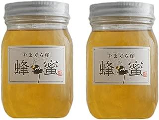 国産天然純粋蜂蜜【明蜂堂】自家採蜜 (百花500g×2)