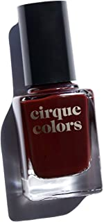 Cirque Colors Crème Nail Polish - 0.37 fl. oz. (11 ml) - Vegan, Cruelty-Free, Non-Toxic Formula (Empire State of Mind)