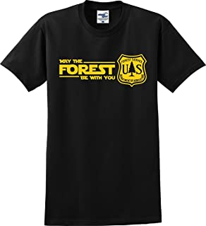 May The Forest Be with You Funny Parody T-Shirt (S-5X)