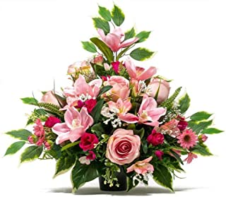 Amazon Fr Fleurs Artificielles Cimetiere
