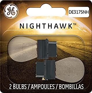 GE Lighting DE3175NH/BP2 Nighthawk Automotive Replacement Bulbs, 2-Pack