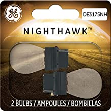 GE Lighting DE3175NH/BP2 Nighthawk Automotive Replacement Bulbs, 2-Pack