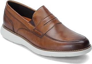 حذاء Rockport Men's, Garett Penny Loafer Cognac 8. 5 M