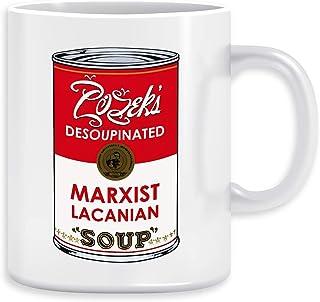 Zizeks Desoupinated Marxist Lacanian Soup T-shirt Uomo Bianco