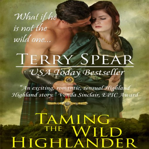 Taming the Wild Highlander audiobook cover art