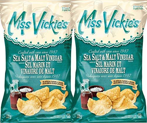 Miss Vickie's Sea Salt & Malt Vinegar 220g (2-Pack)
