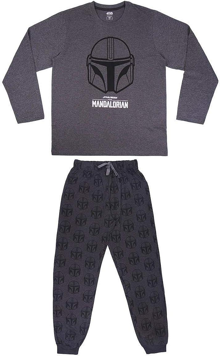 Cerdá - Pijama The Mandalorian para Adultos - Licencia Oficial Star Wars