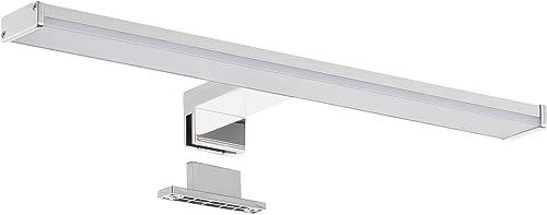 SEBSON® LED Lampe Miroir salle de bain IP44 40cm, lumière de surface + lumière de serrage, blanc neutre 4000K, 400x10...