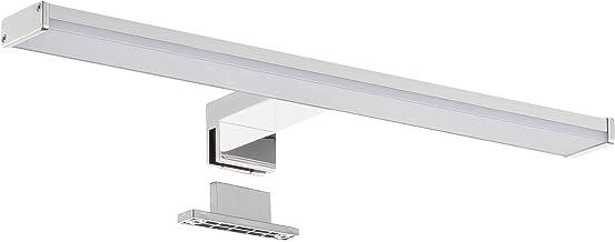 SEBSON® LED Spiegellamp 40cm, Badkamer Verlichting IP44, Spiegelkast Lamp Neutraal Wit 4000K 8W, 600lm, Spiegelverlichting...