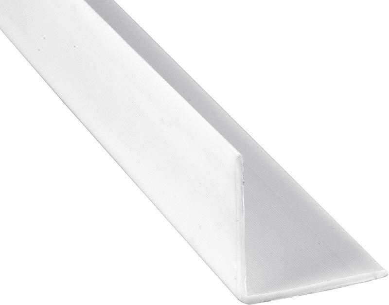 Prime Line Products Prime Line MP10069 Corner Shield 2 1 2 In X 48 In Vinyl Construction White 6 Piece