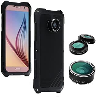 Dreamyth Waterproof Metal Case Camera Lens Hybrid Hard Cover for iPhone Xs Max 6.5inch//iPhone X 5.8inch