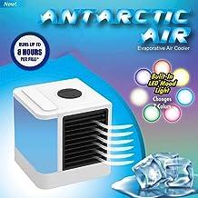 Luckywing Mini Enfriador de Aire, Acondicionador de Aire Móvil Climatizadores Evaporativos con Función de Humidificación Enfriador evaporativo Compacto Perfecto Regalo