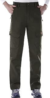 Women's Outdoor Water-Resistant Warmth Fleece Lined Climbing Ski Snow Pants