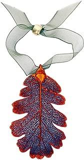 Curious Designs Ornament, Oak Leaf, Iridescent - Real Leaf