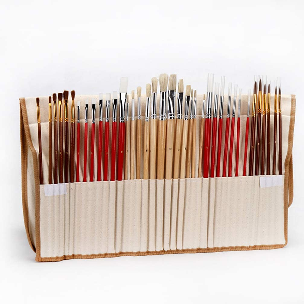 SUPVOX 38 Artist Paint Large special price Brush Set Oil Kansas City Mall Goua Watercolor Acrylic for