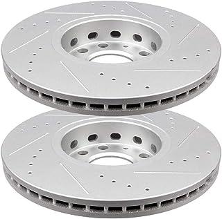 Rotors Set CRK14379 FRONT Premium Grade OE 288 mm 2 fit Audi 100 A4 A6 Volkswagen Passat