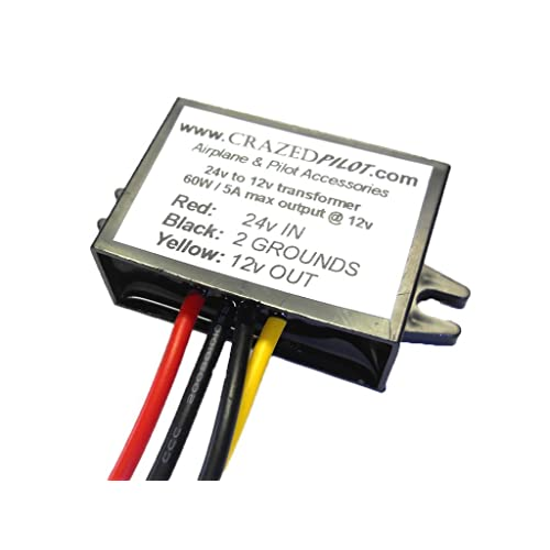 24v to 12v converter: amazon com aircraft volt regulator wiring diagram  on 110 volt