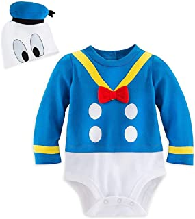 Store Deluxe Donald Duck Halloween Costume Bodysuit Size 9-12 Months White
