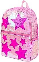 Sequin School Backpack for Girls Boys Kids Cute Kindergarten Elementary Book Bag Bookbag..