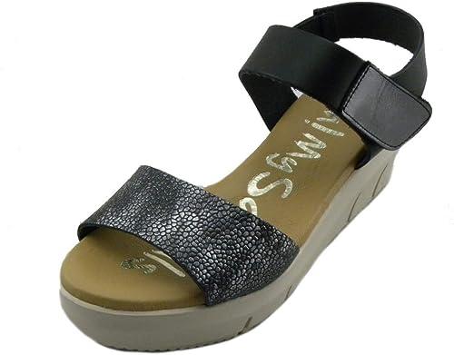 Oh  My Sandals - Sandalias cómodas para damen 4233 schwarz e190424