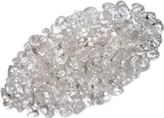 ZenQ 1 lb Clear Quartz Tumbled Stone Chips Crushed Natural Crystal Quartz Pieces
