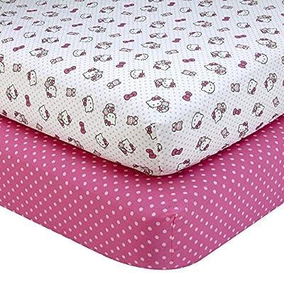 Sanrio Hello Kitty Cute as a Button Coral Fleece Blanket