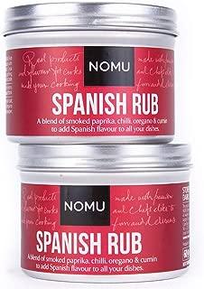 NOMU Spanish Seasoning Rub (4.23 oz | 2-pack) | MSG & Gluten Free, Non-GMO, Non-Irradiated
